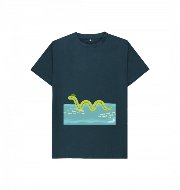 Nessie limited edition t-shirt for children from the RSCDS