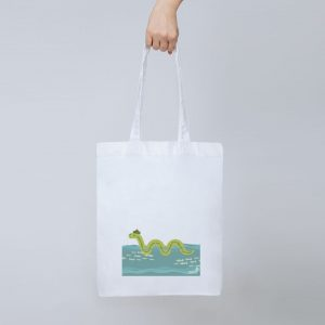 Nessie tote bag, limited edition design from the RSCDS