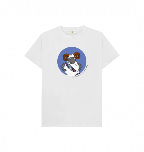 Limited edition Rowan design t-shirt for children from the RSCDS