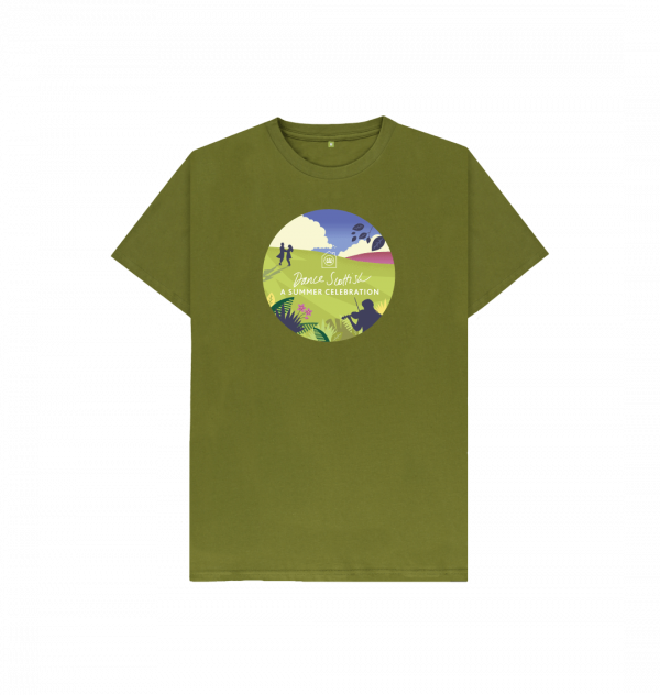 Children's Summer Celebration t-shirt, limited edition from the RSCDS