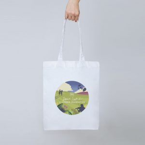 Summer Celebration tote bag, limited edition from the RSCDS