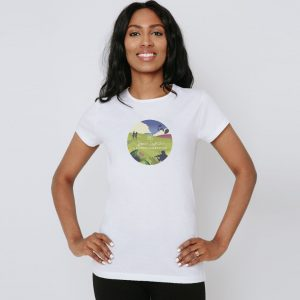 Womens Summer Celebration t-shirt, limited edition from the RSCDS
