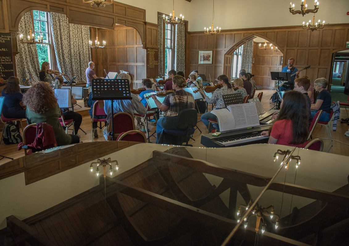 Musicians Course in the Old Dining Hall