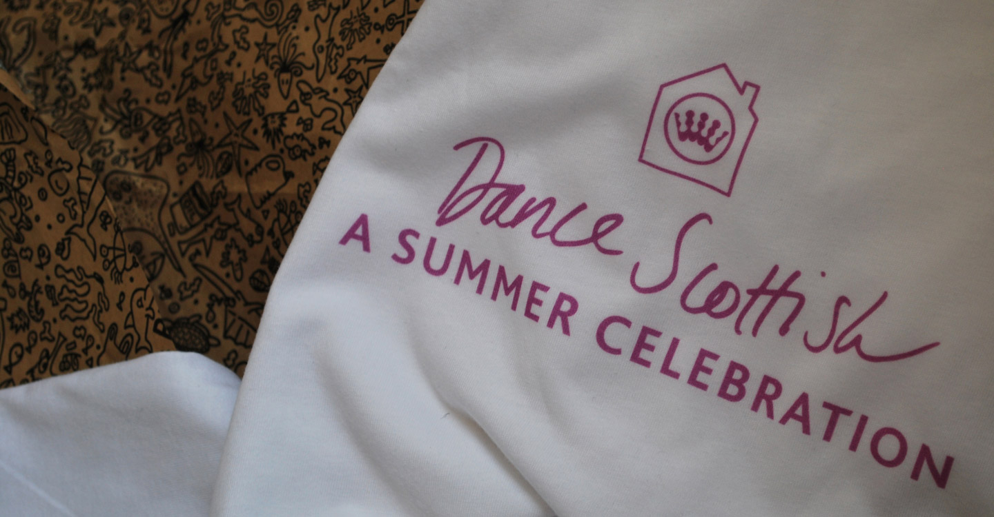 Summer Celebration womens t-shirt and plastic free packaging