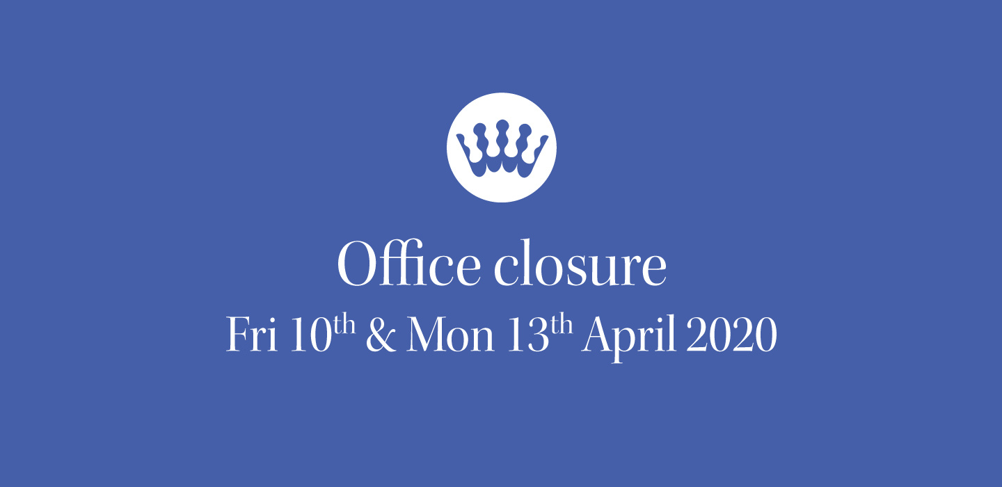 RSCDS office closure