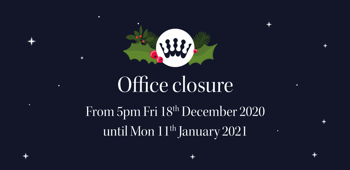 The RSCDS Office will be closed over Christmas and New Year