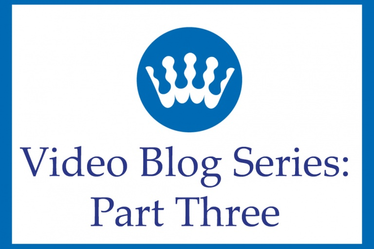 Video Blog Three