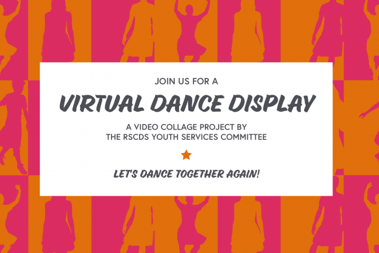 Virtual dance display project by RSCDS Young Dancers