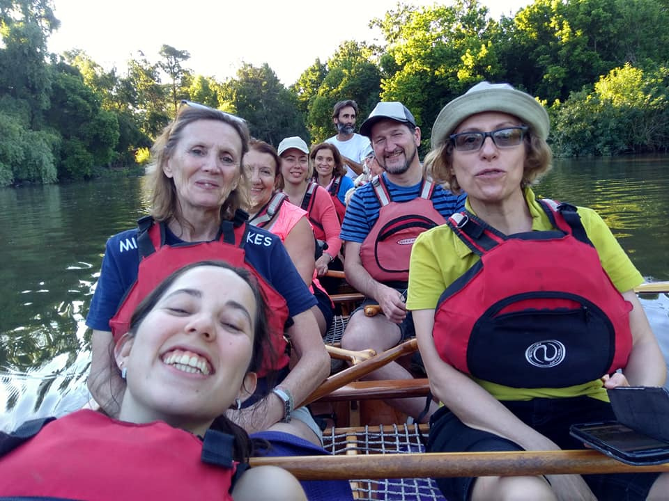 Dancing and Rowing Day -Delta del Paraná 2018