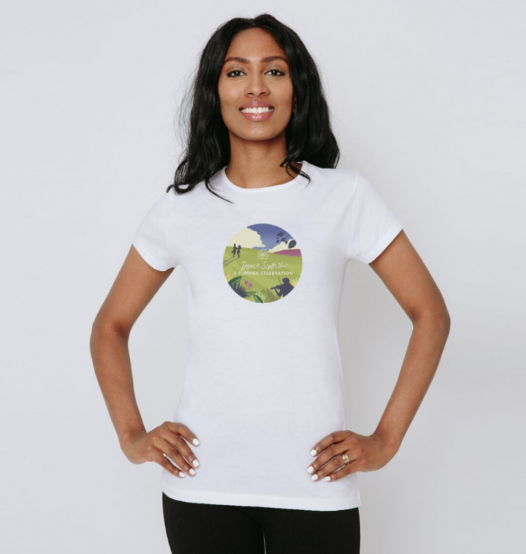 Womens Summer Celebration tee