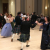 Dancers at the 2018 Madison Scottish Country Dancers Ball